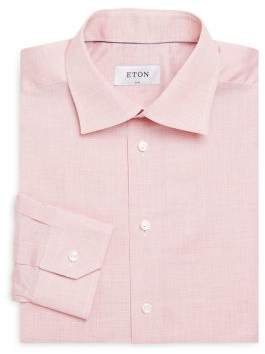 Eton Slim-Fit Striped Dress Shirt