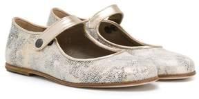 Pépé metallic ballerinas