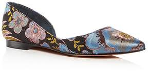 Marc Fisher Women's Sunny Pointed Toe d'Orsay Flats