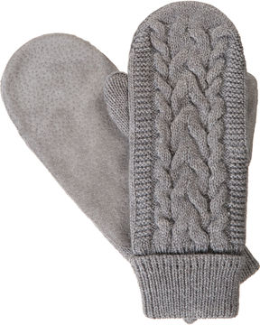 Isotoner Cable Knit Cold Weather Mittens