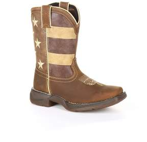Durango Lil Rebel by Faded Glory Flag Kids Western Boots