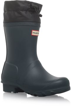 Hunter Quilted Cuff Welly Boots