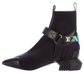 Louis Vuitton 2017 Deep Sea Ankle Boots
