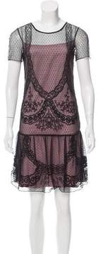ALICE by Temperley Lace Mini Dress w/ Tags