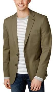 Michael Kors Stretch Two Button Blazer Jacket Green 38