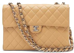 Banana Republic LUXE FINDS | Chanel Classic Caviar Jumbo Flap Bag