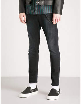 The Kooples Faded slim-fit skinny jeans
