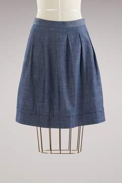 A.P.C. Ombrelle Cotton Skirt