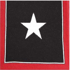 Givenchy Star Logo Knit Scarf