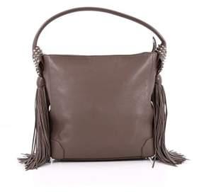 Christian Louboutin Pre-owned: Eloise Fringe Hobo Leather Medium.
