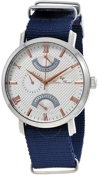 Lucien Piccard Multi-Function Nylon Strap Men's Watch