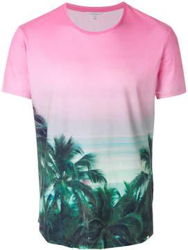 Orlebar Brown palm tree print T-shirt