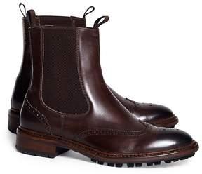 Brooks Brothers Wingtip Lug Sole Chelsea Boot