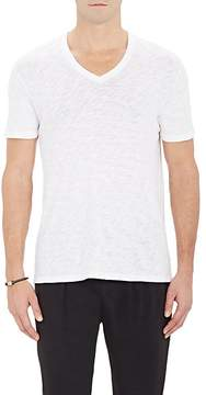 ATM Anthony Thomas Melillo Men's Slub V-Neck T-Shirt