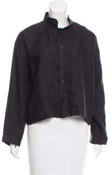 eskandar Linen Button-Up Top