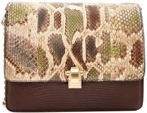 Roberto Cavalli Python crossbody bag