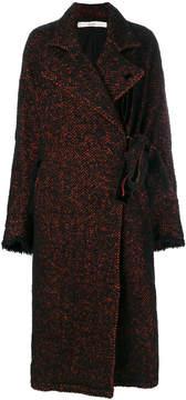 Damir Doma oversized tweed coat