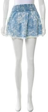 Generation Love Distressed Mini Skirt