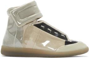 Maison Margiela Transparent Vinyl Future High-Top Sneakers