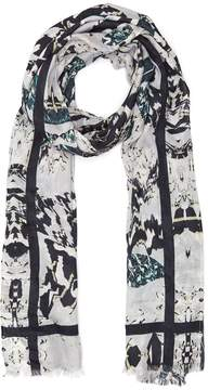 Reiss Miller Patterned Scarf