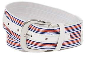 Steve Madden Striped Stretch Belt