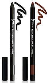 It Cosmetics No-Tug Anti-Aging Gel Waterproof Auto Eyeliner Duo