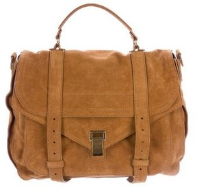 Proenza Schouler PS1 Suede Messenger Bag