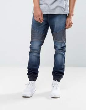 Loyalty And Faith Garrett Jogger Jeans in Indigo Wash