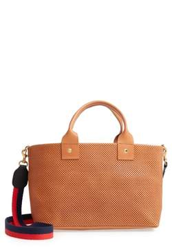Clare Vivier Perforated Bruno Leather Crossbody Bag