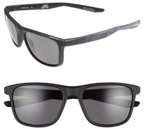 Nike Men's Unrest Se 57Mm Sunglasses - Matte Black/ Deep Pewter