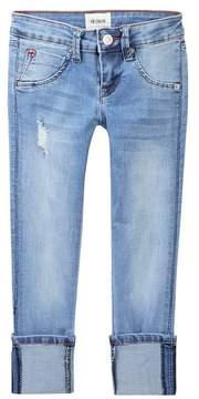 Hudson Skinny Roll Cuff Crop Jeans (Big Girls)