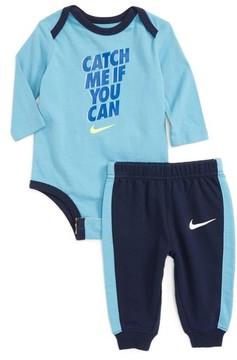 Nike Infant Boy's Bodysuit & Jogger Pants Set
