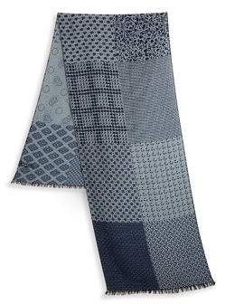 Saks Fifth Avenue COLLECTION Multi Print Scarf