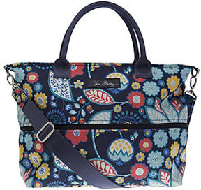 Vera Bradley As Is Lighten Up Expandable Shopper - ONE COLOR - STYLE