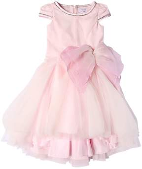 MonnaLisa Tulle Party Dress With Butterfly