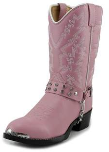Durango Bt668 Toddler W Round Toe Synthetic Pink Western Boot.