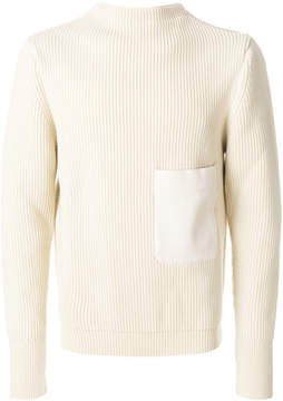 Lemaire patch pocket knitted sweater