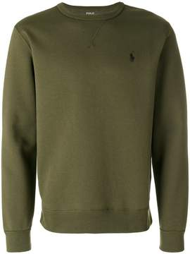 Polo Ralph Lauren logo embroidery sweatshirt