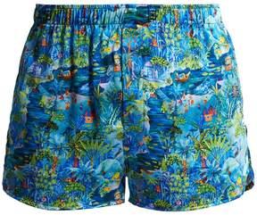 Derek Rose Brindisi silk-satin boxer shorts
