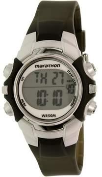 Timex Women's Marathon T5K805 Black Silicone Quartz Sport Watch
