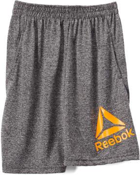 Reebok Shark Heather 'Reebok' Delta Logo Shorts - Toddler & Boys