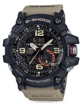 G-Shock Master of G S Resin Analog-Digital Strap Watch