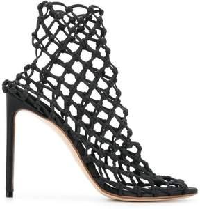 Francesco Russo net sandals