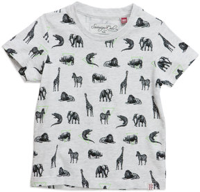 Sovereign Code Langley Animal Short-Sleeve Tee, Gray, Size 12-24 Months