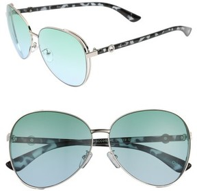 Sam Edelman Women's Satellite 51Mm Aviator Sunglasses - Silver