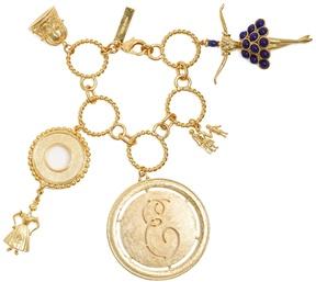 Emilia Wickstead Gold-plated charm bracelet