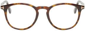 Tom Ford Tortoiseshell Round FT5401 Glasses