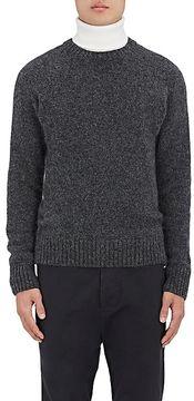 Ami Alexandre Mattiussi Men's Stockinette-Stitched Alpaca-Blend Sweater