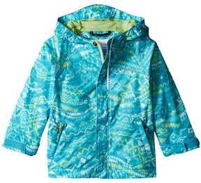 Columbia Kids Fast Curioustm Rain Jacket Girl's Jacket