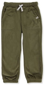 Carter's Little Boys' Toddler Microfleece Joggers (Sizes 2T - 4T) - olive, 4t